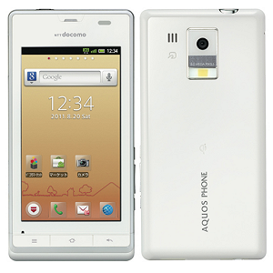 Post thumbnail of NTTドコモ シャープ製 防水、ワイヤレス充電対応スーマートフォン「AQUOS PHONE f SH-13C」8月6日発売