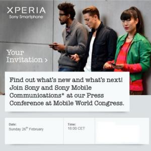Post Thumbnail of ソニー、バルセロナで開催される世界モバイル展示会 MWC2012 のプレスカンファレンスで「Xperia P」と「Xperia U」を正式発表