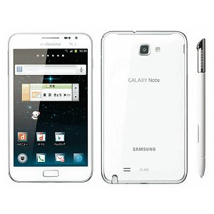 Post thumbnail of NTTドコモ、Xi (LTE) 通信、ワンセグ対応のサムスン製大型 5.3 インチスマートフォン「Galaxy Note SC-05D」2012年4月6日発売