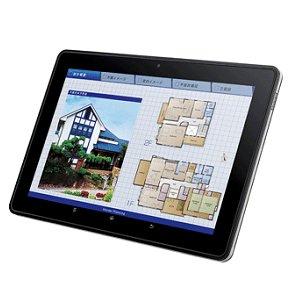 Post thumbnail of シャープ、企業向けICカード対応「NFC」を搭載した10.1インチタブレット「RW-T110」、2012年3月27日発売