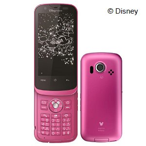 Post Thumbnail of ディズニー・モバイル スライド式テンキー搭載、防水防塵コンパクトなスマートフォン「DM011SH」2011年12月2日発売