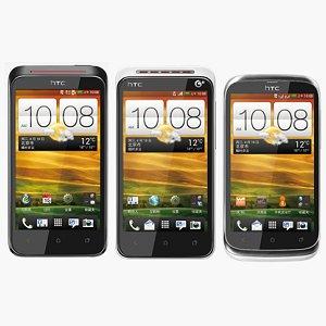 Post thumbnail of HTC 中国向けエントリーモデルスマートフォン新 Desire (新渇望)シリーズ3機種「VC T328d」「VT T328t」「V T328w」発表