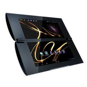 Post thumbnail of ソニー、5.5インチディスプレイが2画面搭載された折りたたみタブレット「Sony Tablet P」の Wi-Fi モデル、2012年4月21日発売