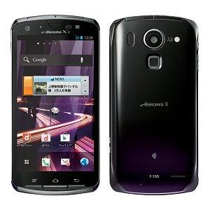 Post thumbnail of NTTドコモ、防水 高速 LTE 通信対応、クアッドコアプロセッサ Tegra 3 搭載スマートフォン「ARROWS X F-10D」 2012年7月20日発売
