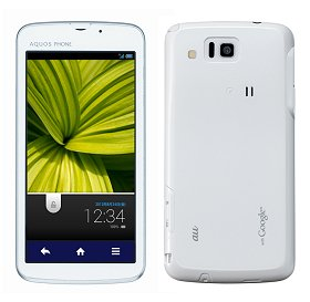 Post thumbnail of KDDI au メモリ液晶搭載、電池消耗を抑える「エコ技」対応スマートフォン「AQUOS PHONE CL IS17SH」 7月20日より順次発売