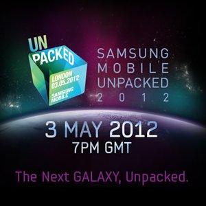 Post Thumbnail of サムスン「Galaxy S3」が発表される新製品発表イベント「UNPACKED 2012」を英国にて5月3日19時より開催。