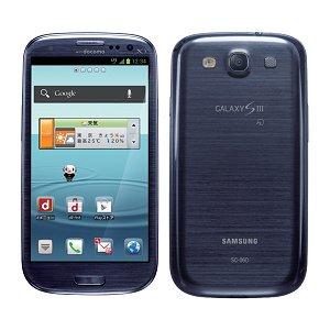 Post thumbnail of NTTドコモ LTE 通信 ワンセグ おサイフ対応、RAM 2GB 搭載 フラグシップスマートフォン「Galaxy S3 SC-06D」 6月28日発売