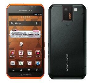 Post thumbnail of NTTドコモ、高速 LTE 通信対応のエンターテイメント系スマートフォン「AQUOS PHONE sv SH-10D」 2012年8月30日発売