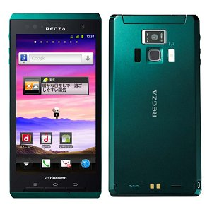 Post thumbnail of NTTドコモ 防水、デュアルコア1.2GHz 指紋認証機能搭載、超美麗映像スマートフォン「REGZA Phone T-01D」2011年12月2日再発売