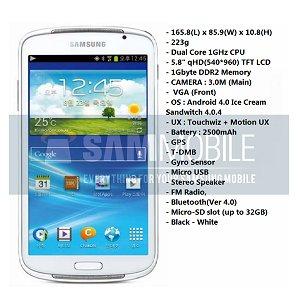 Post thumbnail of サムスン、大型5.8インチディスプレイ Android 4.0 搭載の未発表メディアプレイヤー「Galaxy Player YP-GP1」情報