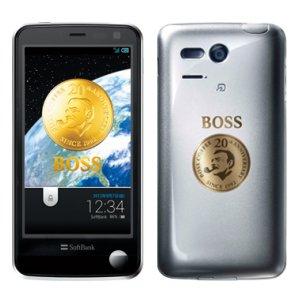 Post thumbnail of ソフトバンク、サントリーコーヒー「BOSS」コラボレーションスマートフォン「ボス電 SoftBank 107SH B」限定2000台販売、9月7日より