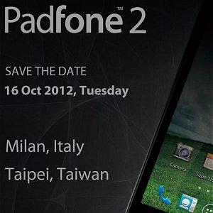 Post Thumbnail of ASUS、スマートフォンとタブレットが合体する事で注目された「Padfone」の後継機「Padfone 2」発表会を10月16日開催
