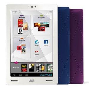 Post thumbnail of 楽天、Android 4.0 デュアルコアプロセッサ搭載の7インチ電子書籍タブレット「Kobo Arc」を日本でも発売すると発表