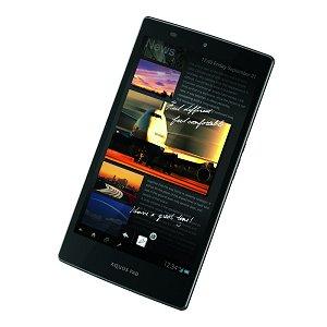 Post thumbnail of au 高速 LTE 通信 防水防塵対応 シャープ製 IGZO ディスプレイ採用の7インチタブレット「AQUOS PAD SHT21」12月7日発売