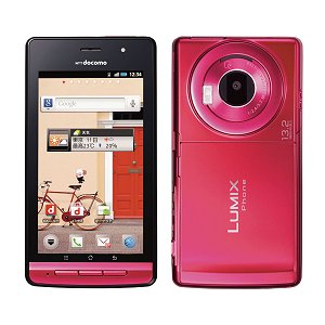 Post thumbnail of NTTドコモ パナソニック製 さくさくフォトシェア機能 防水デジカメスマートフォン「LUMIX Phone P-02D」2011年12月23日発売