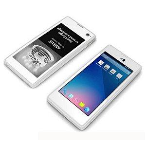 Post thumbnail of 前面にカラー液晶、背面にモノクロ電子ペーパーディスプレイ搭載のスマートフォン「YotaPhone」12月以降グローバル発売予定