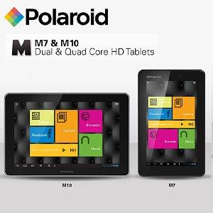 Post thumbnail of ポラロイド、同社初となる Android 4.1 搭載の低価格タブレット7インチ「M7」と10.1インチ「M10」の2機種を発表