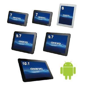 Post thumbnail of オンキヨー、「SlatePad」シリーズ Android タブレット6機種を3月8日より順次発売、価格9,480円から