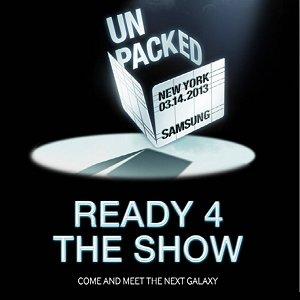 "Post Thumbnail of サムスン、2013年3月14日に「Unpacked 2013 ""REDEY 4 THE SHOW""」開催、スマートフォン「Galaxy S4 (IV)」発表の見通し"