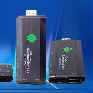 Post thumbnail of Rockchip クアッドコアプロセッサ RK3188 を搭載した初のスティック型 Android 端末「CloudnetGO CR9」発表