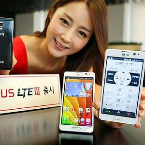 Post thumbnail of 韓国通信キャリア SK-Telecom 向け、ホームボタンが状態により光る LTE 通信対応スマートフォン「LG Optimus 3 (III)」発表