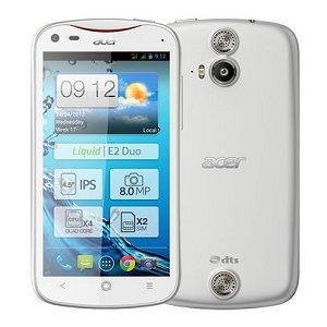 Post thumbnail of Acer、クアッドコアプロセッサ MT6589 搭載デュアル SIM 対応スマートフォン「Liquid E2 Duo」発表、5月以降発売