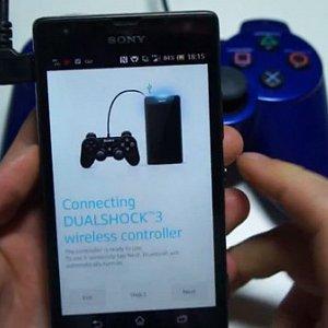 Post thumbnail of ソニー、グローバルモデルの Xperia スマートフォンをプレイステーション 3 用コントローラー (DUALSHOCK 3) に対応