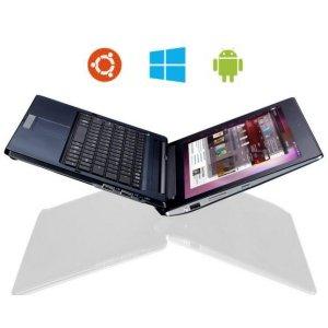 Post Thumbnail of 3つの OS Android, Ubuntu, Windows 8 を搭載できるノートパソコンにもなるコンバーチブルタブレット「Ekoore Python S3」登場