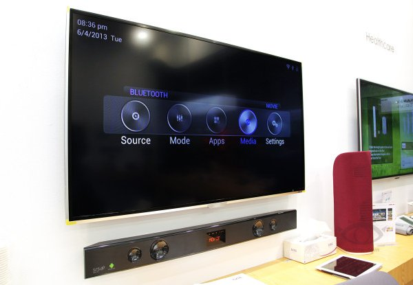 Post Thumbnail of 米 Sceptre、Android 搭載テレビ向けサウンドバー「SoundBar SB301524W」発売、価格300ドル(約29,000円)