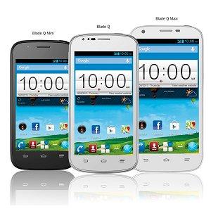 Post thumbnail of ZTE、エントリーモデルスマートフォン3機種「Blade Q」「Blade Q Mini」「Blade Q Maxi」発表、欧州向けに発売
