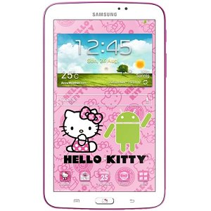 Post thumbnail of サムスン、ハローキティコラボレーションモデルとなるギャラクシータブレット「Galaxy Tab 3 7.0 Hello Kitty Edition」準備中