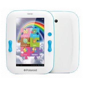 Post thumbnail of ポラロイド、子供向け Android 4.1 や安心機能を搭載したタブレット「Rainbow Pad」を全国トイザらスにて11月15日より発売