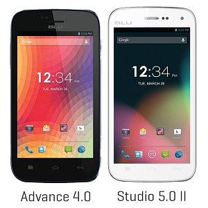 Post thumbnail of 米 BLU、デュアル SIM 対応の低価格エントリーモデルスマートフォン2機種「Advance 4.0」と「Studio 5.0 II」発売