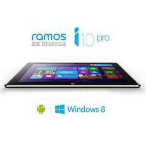 Post thumbnail of 中国 RAmos、クアッドコアプロセッサ Intel Atom Z3770D 搭載 Windows 8.1 と Android デュアル OS タブレット「i10 Pro」準備中
