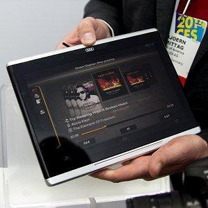 Post thumbnail of アウディ、自動車内での利用向けとした10.2インチ Android タブレット「Mobile Audi Smart Display」発表