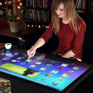 Post thumbnail of 米 Ideum、Android と Windows OS デュアルブート対応の32と46インチ大型スマートテーブル登場、価格6950ドル(約70万円)より