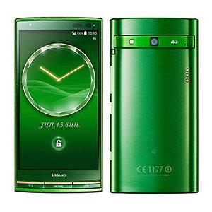 Post thumbnail of au、かんたんメニューやスマートソニックレシーバー搭載の京セラ製スマートフォン「URBANO L03」6月28日発売