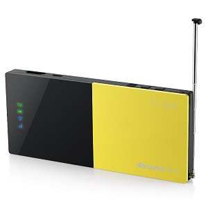 Post thumbnail of ドコモ、テレビ視聴機能のない端末でテレビが楽しめるテザリング対応 Android 搭載チューナー「TV BOX」7月31日発売