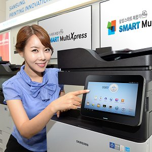 Post thumbnail of サムスン、Android OS ベース Smart UX 搭載のコピーやファックスが可能な複合機「Smart MultiXpress」シリーズ登場
