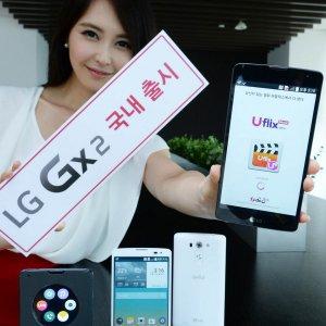 Post thumbnail of LG、韓国通信キャリア LG U+ 向け大型ファブレットサイズ5.7インチスマートフォン「LG Gx2」発表、8月28日発売