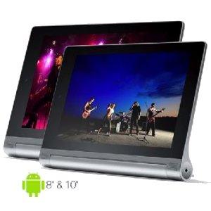 Post thumbnail of レノボ、インテル Atom Z3745 搭載 8インチと10インチサイズの 1920×1200 解像度タブレット「Yoga Tablet 2」発売