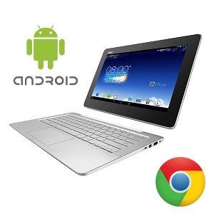 Post Thumbnail of グーグル、Android と Chrome OS を搭載したノートパソコンにもなる 2 in 1 スタイルのタブレット開発中?