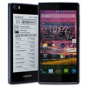 Post Thumbnail of 中国メーカー Siswoo、E-Ink ディスプレイを搭載した2画面スマートフォン「R9 DarkMoon」発表、LTE 通信やデュアル SIM にも対応