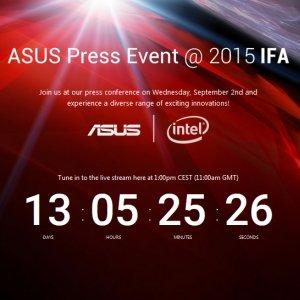 Post Thumbnail of ASUS、ドイツ IFA 2015 に合わせて9月2日にプレスカンファレンス開催、新型スマートフォンやタブレットなどが登場する可能性