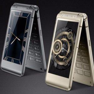 Post thumbnail of サムスン、中国市場向け2画面の二つ折り高級スマートフォン「W2016」登場、価格9999元(約20万円)程度の見通し