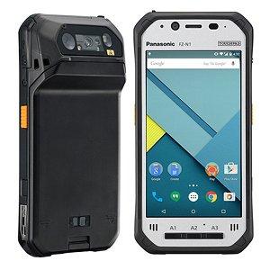 Post thumbnail of パナソニック、耐衝撃や防水防塵対応でバーコードリーダー搭載 4.7インチのタフネスタブレット「TOUGHPAD FZ-N1」発表