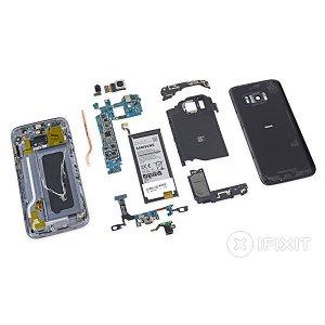 Post thumbnail of サムスン製キャップレス防水対応の2016年フラグシップモデルスマートフォン「Galaxy S7」分解レポート