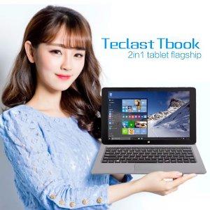 Post thumbnail of Teclast、Android 5.1 と Windows 10 のデュアル OS 搭載 11.6インチタブレット「TBOOK 16」登場、価格277ドル(約32,000円)