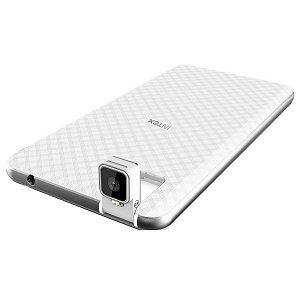 Post thumbnail of インド Intex、角度調整可能なリア(背面)カメラ搭載 5インチ 3G スマートフォン「Aqua Twist」発表、価格4999ルピー(約8,400円)