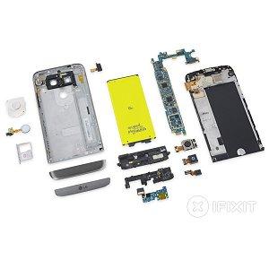 Post Thumbnail of LG 製 2016年フラグシップモデルとなるモジュール機能搭載ハイスペック5インチスマートフォン「LG G5」分解レポート